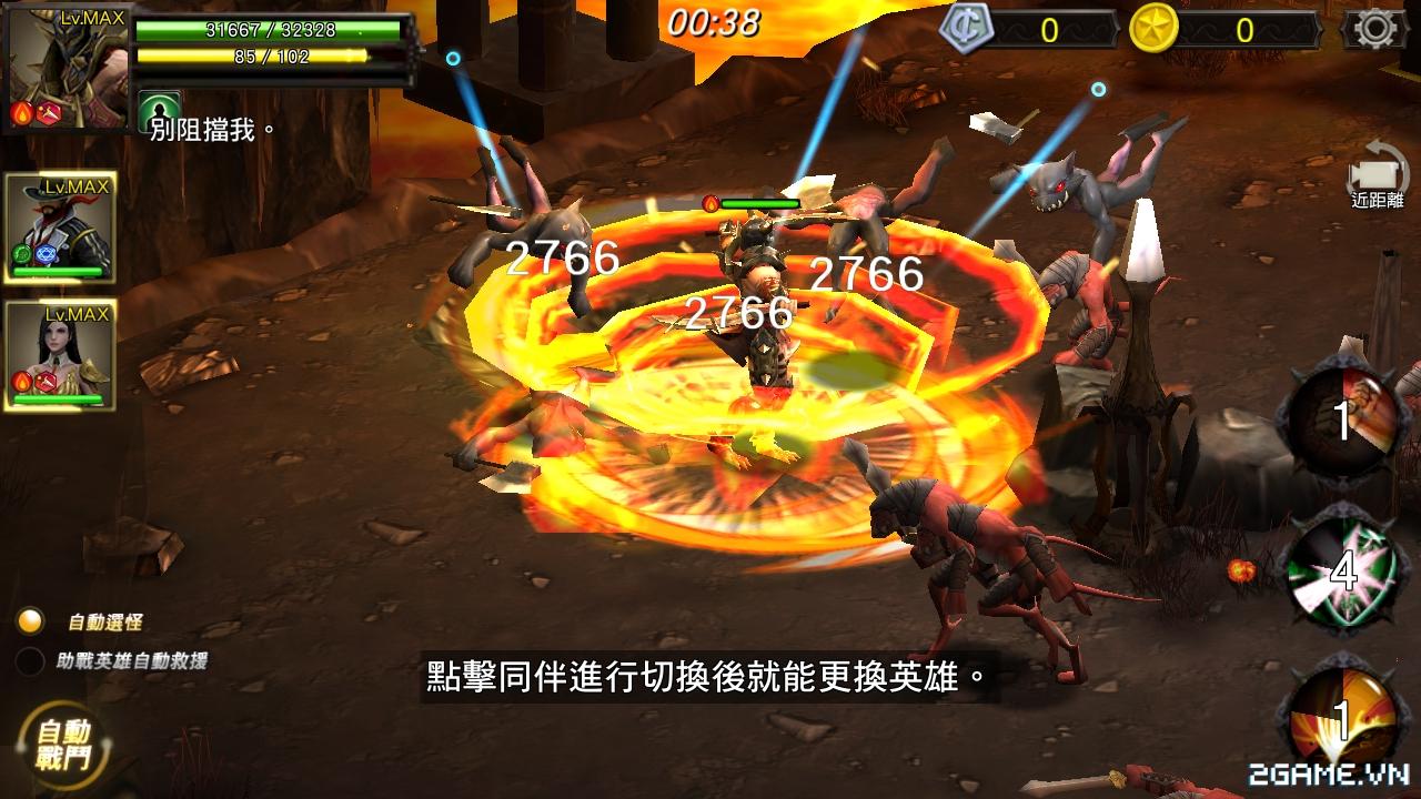 Chơi thử HERO Xuyên Việt Anh Hùng - Đồ hoạ tuyệt đẹp, lối chơi chặt chém cực máu lửa 0