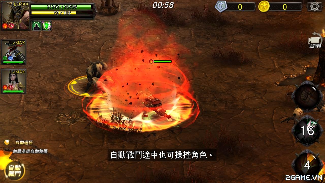 Chơi thử HERO Xuyên Việt Anh Hùng - Đồ hoạ tuyệt đẹp, lối chơi chặt chém cực máu lửa 1