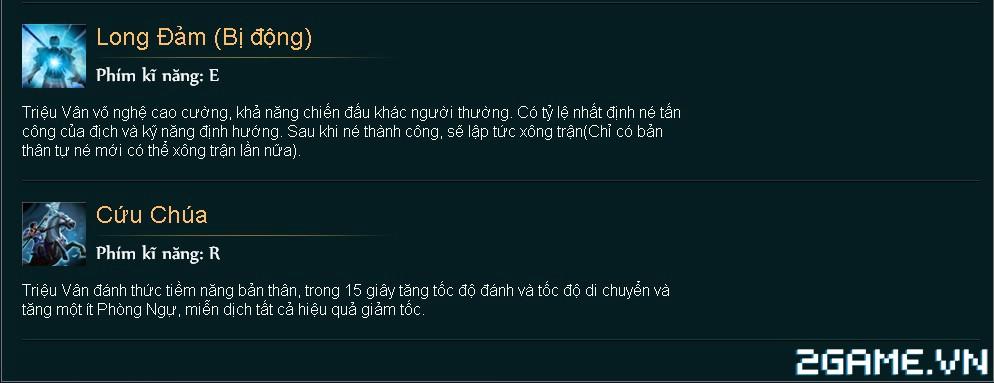 Huyền Thoại MOBA - Tiêu điểm tướng Triệu Vân 2