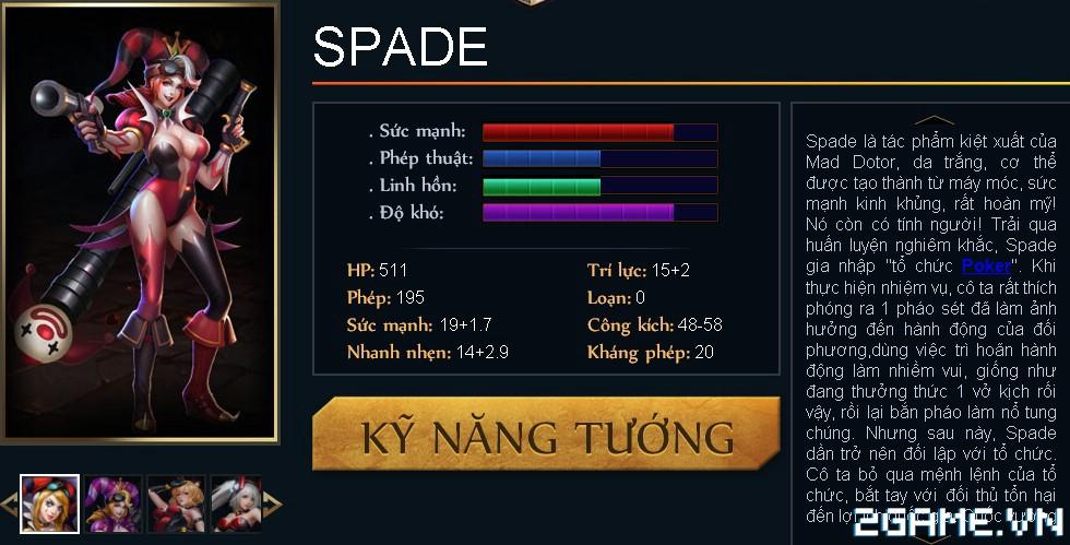 Huyền Thoại MOBA - Tiêu điểm tướng Spade 0