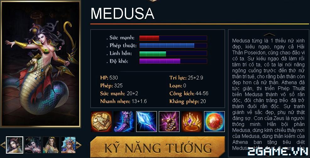 Huyền Thoại MOBA - Tiêu điểm tướng Medusa 0
