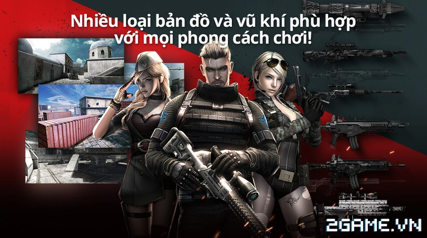 Final Shot - Sẵn sàng chiến bản Việt hoá của tân binh FPS đầy triển vọng nhà Netmarble 2