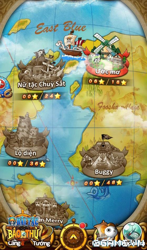 """Hải Tặc Báo Thù - 3 điều không thể không có để làm nên tựa game """"chuẩn"""" One Piece 4"""