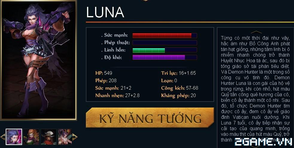 Huyền Thoại MOBA - Tiêu điểm tướng Luna 0