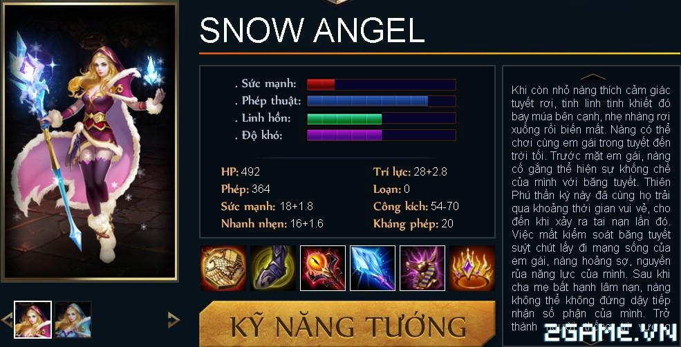 Huyền Thoại MOBA – Tiêu điểm tướng Snow Angel