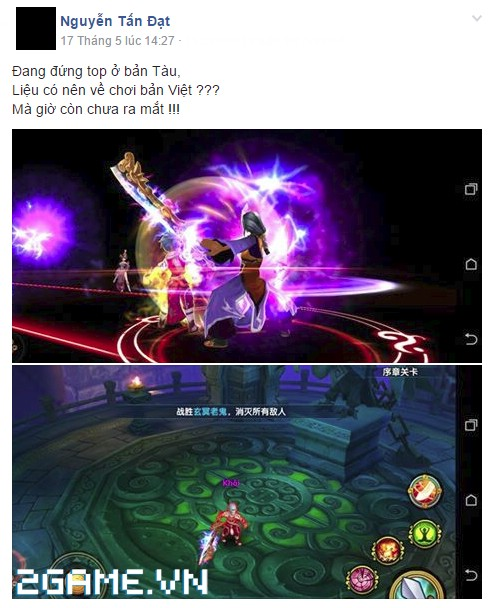 Kiếm Khách Truyện - Ức chế vì game chậm ra mắt, một đại gia Việt bỏ sang server Trung Quốc đua Top 2