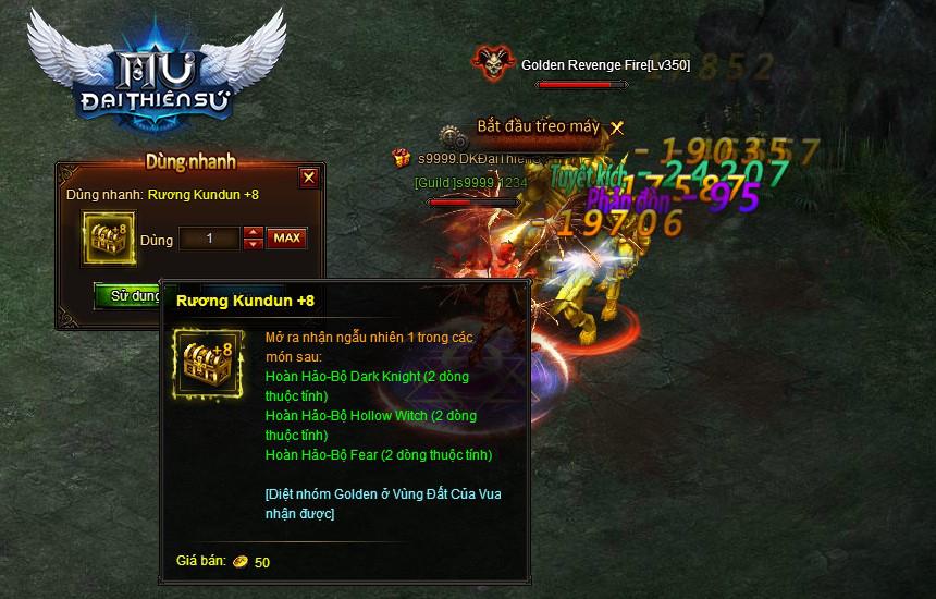 MU Đại Thiên Sứ khiến game thủ bị choáng với một loạt tính năng mới 4