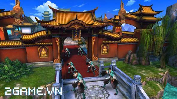 Phong Vân 3D - Tái hiện hành trình Phong Vân qua các hoạt động trong game 3