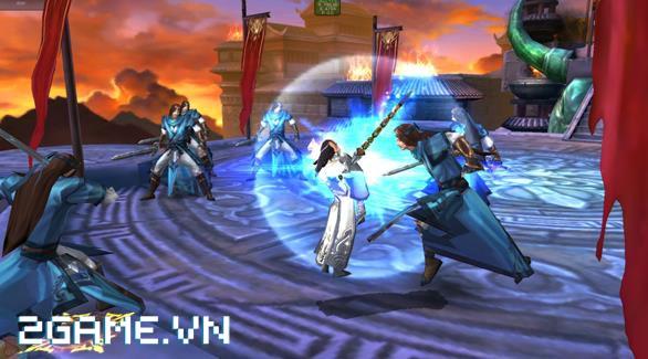 Phong Vân 3D - Tái hiện hành trình Phong Vân qua các hoạt động trong game 1