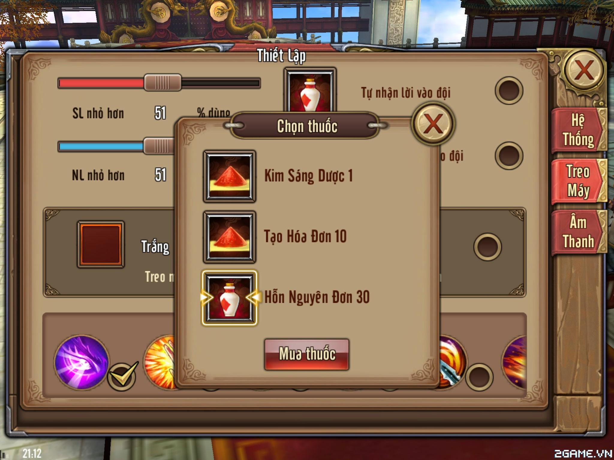 Phong Vân 3D - Chiến lược lên cấp 45 -50 3
