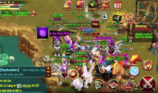 Chinh Đồ Mobile - Game thủ sung sướng vật vã khi săn Boss Hoàng Kim, ăn được 10 triệu Exp 1