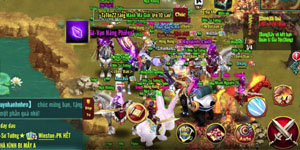 Chinh Đồ Mobile – Game thủ sung sướng vật vã khi săn Boss Hoàng Kim, ăn được 10 triệu Exp