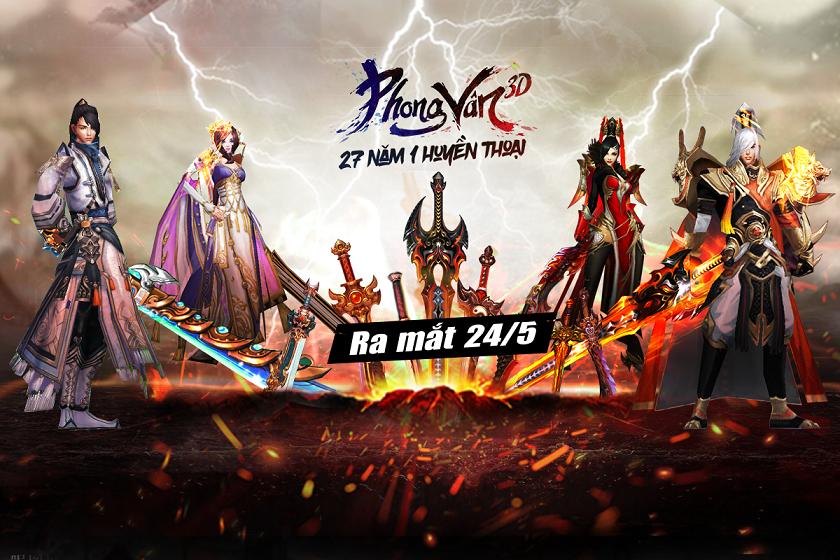 Phong Vân 3D VNG đã chính thức cho người chơi tải game 0
