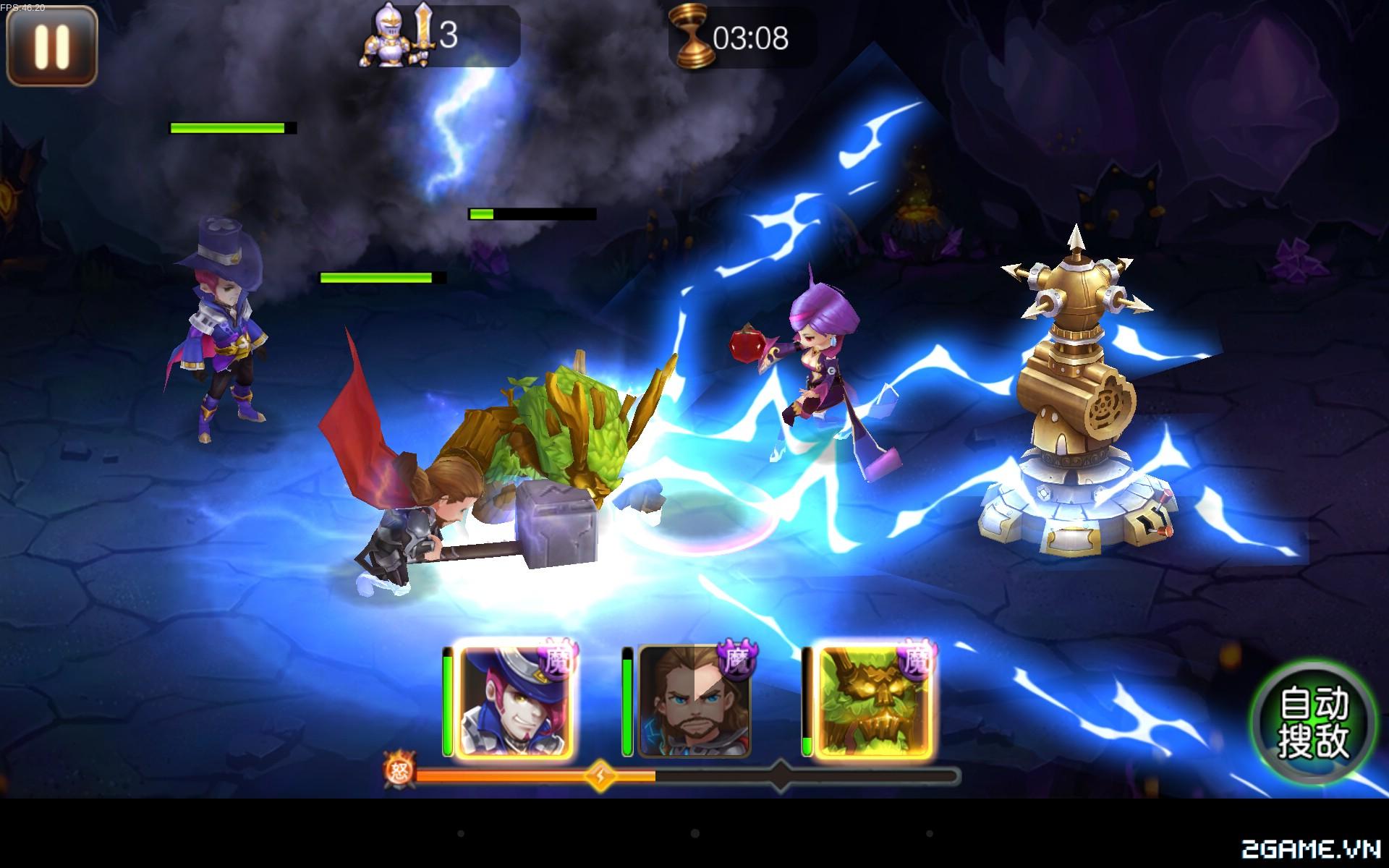 Thánh Kiếm Khế Ước -  Game mobile MOBA kết hợp thẻ bài phù hợp với mọi lứa tuổi 2