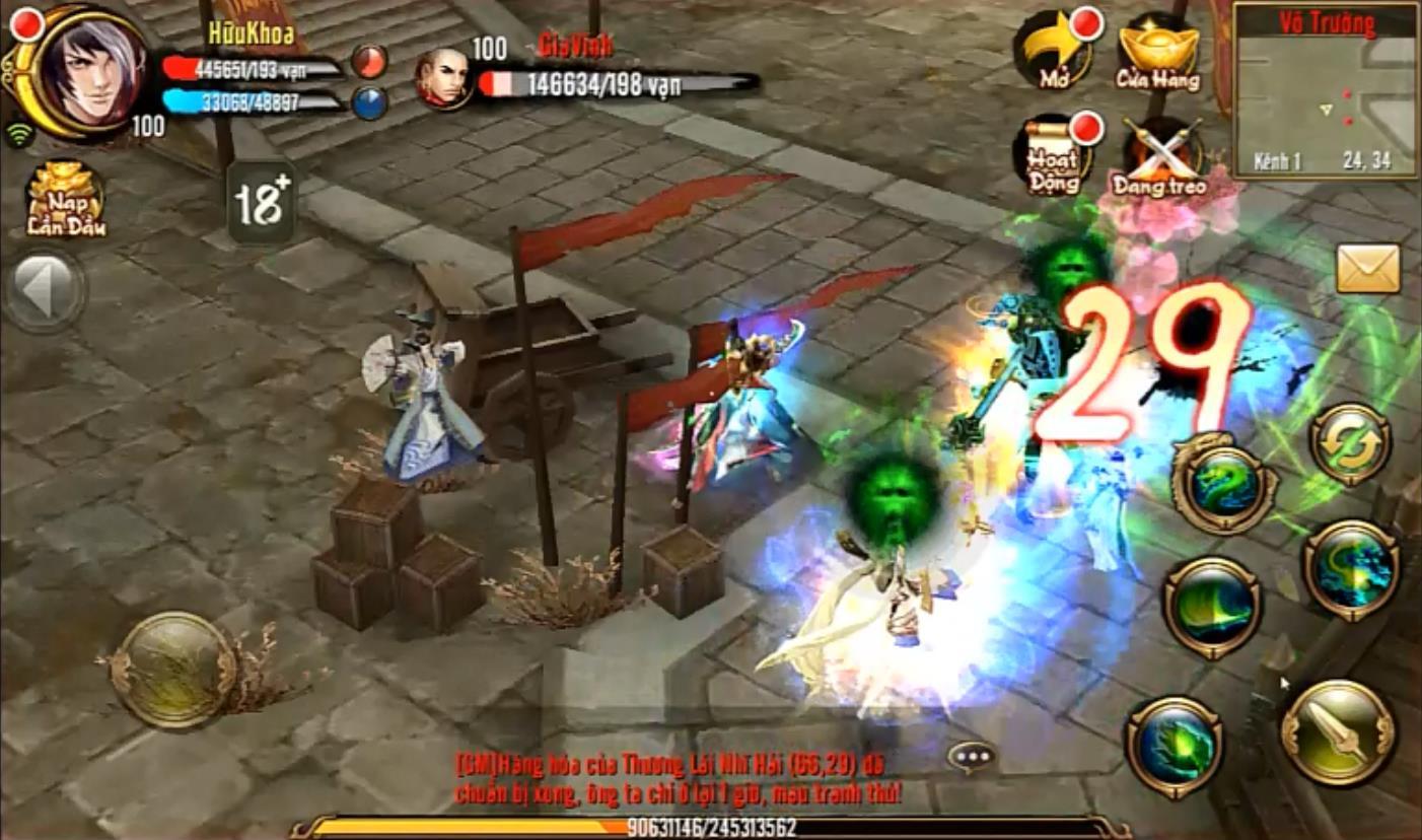 Game thủ Thiên Long Bát Bộ Mobile cần lưu ý về PK trừng phạt và Lịch sử tử vong 0