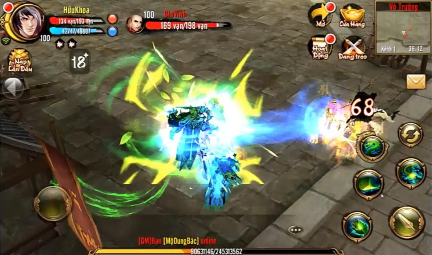 Game thủ Thiên Long Bát Bộ Mobile cần lưu ý về PK trừng phạt và Lịch sử tử vong 1