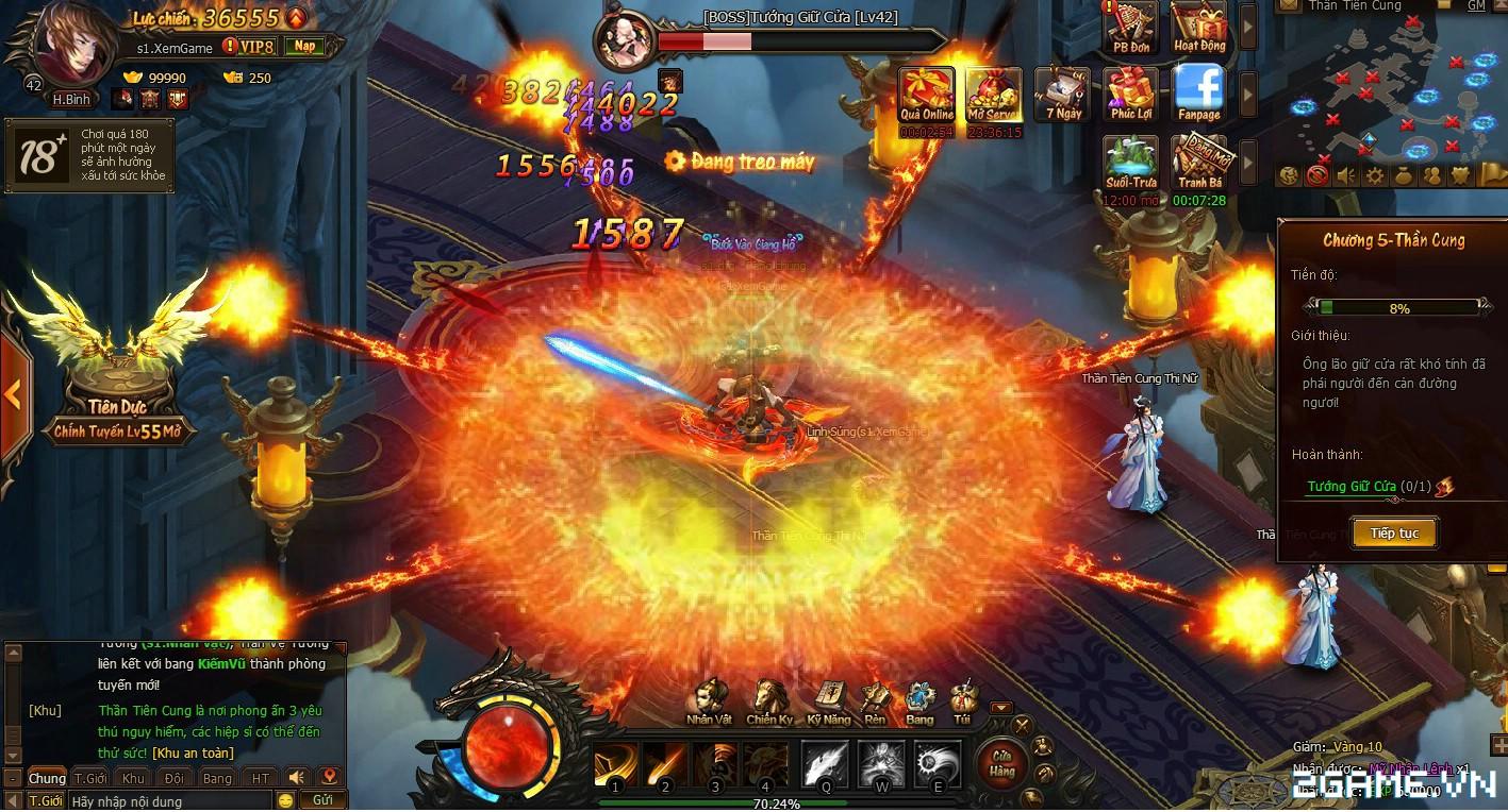 Trải nghiệm sớm webgame Kiếm Vũ - Thích thú với phong cách kỵ chiến, không chiến độc đáo 3