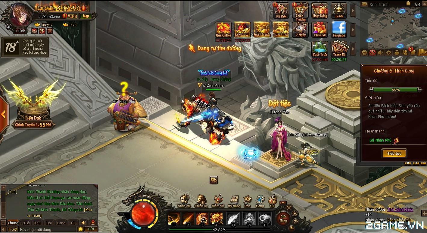 Trải nghiệm sớm webgame Kiếm Vũ - Thích thú với phong cách kỵ chiến, không chiến độc đáo 7