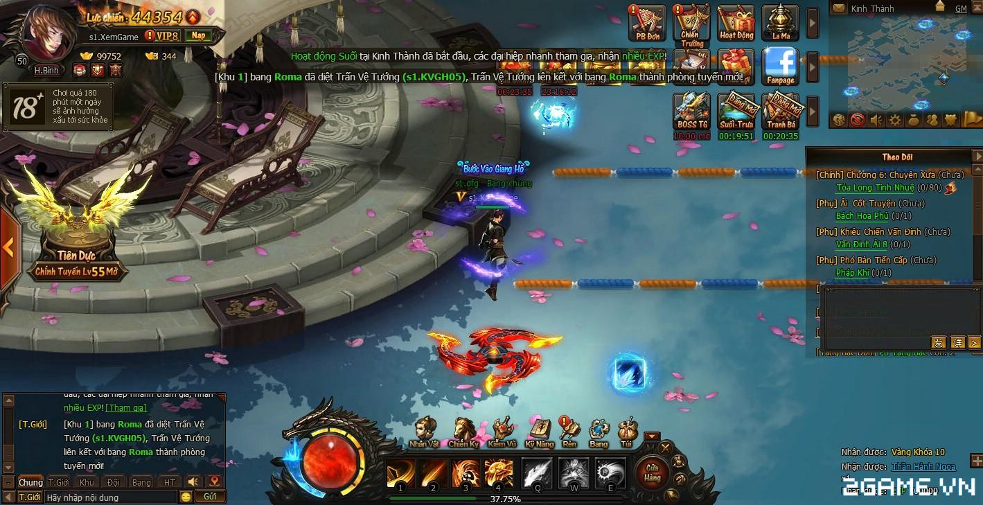 Trải nghiệm sớm webgame Kiếm Vũ - Thích thú với phong cách kỵ chiến, không chiến độc đáo 2
