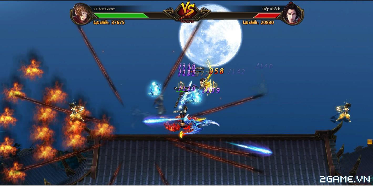 Trải nghiệm sớm webgame Kiếm Vũ - Thích thú với phong cách kỵ chiến, không chiến độc đáo 0
