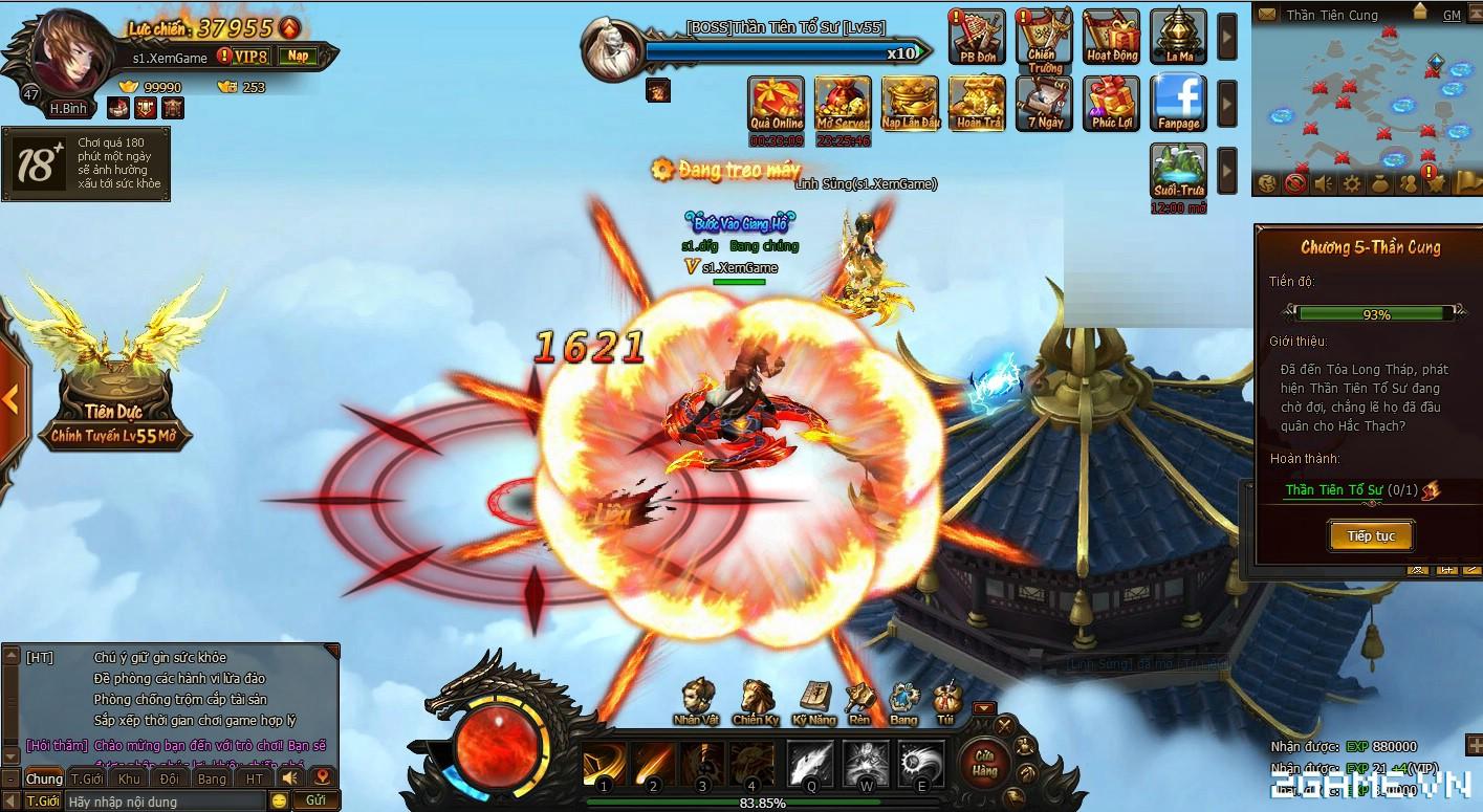 Trải nghiệm sớm webgame Kiếm Vũ - Thích thú với phong cách kỵ chiến, không chiến độc đáo 1
