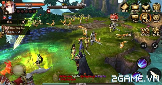 Phong Vân 3D - Nhiều game thủ bày tỏ sự hài lòng với game khi được chạm tay vào chơi 2