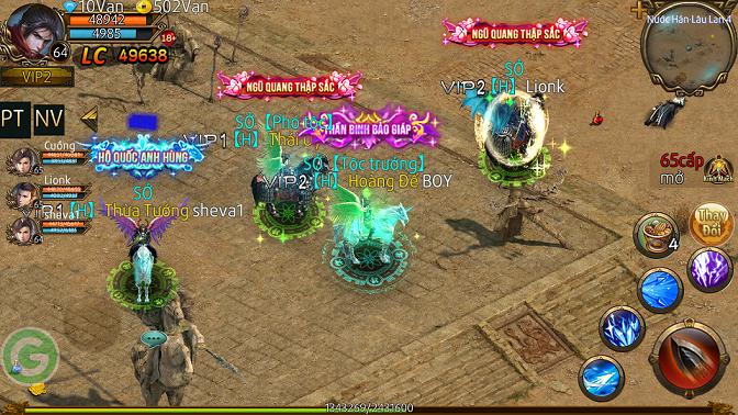 Quốc Chiến Truyền Kỳ - Tựa game làm sống dậy kí ức Chinh Đồ, Võ Lâm 5