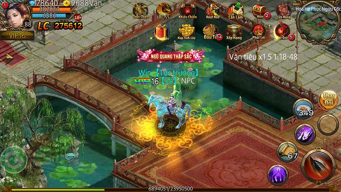 Quốc Chiến Truyền Kỳ - Tựa game làm sống dậy kí ức Chinh Đồ, Võ Lâm 8
