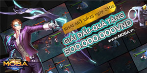 Huyền Thoại MOBA tặng giftcode cho game thủ 2Game
