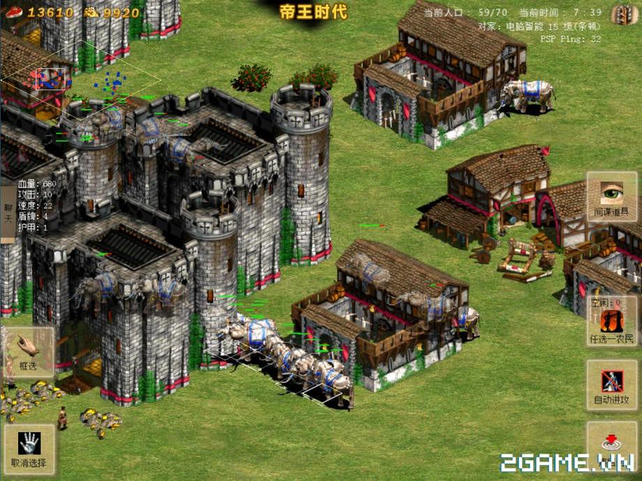 Chỉ Tiêm Đế Quốc - Phiên bản mobile của tựa game huyền thoại AOE 7