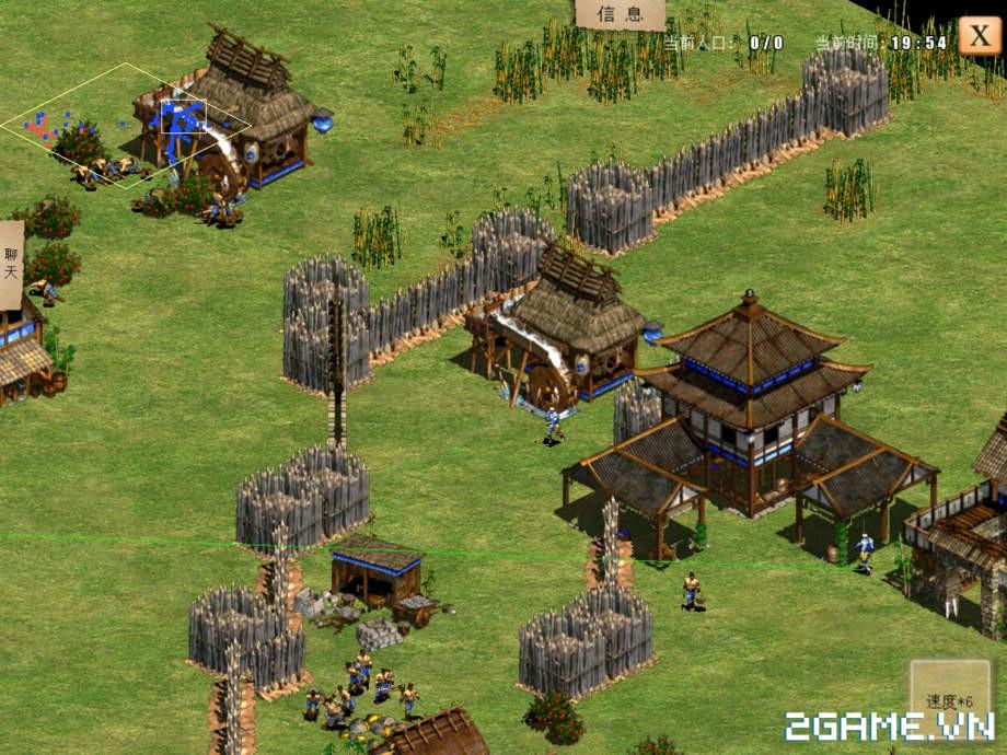 Chỉ Tiêm Đế Quốc - Phiên bản mobile của tựa game huyền thoại AOE 8