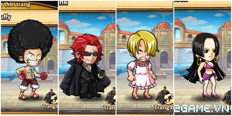 Hải Tặc Báo Thù - Tất tần tật trang phục trong One Piece sẽ được đưa vào game? 5