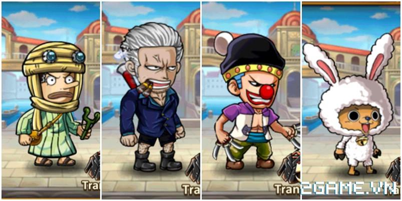 Hải Tặc Báo Thù - Tất tần tật trang phục trong One Piece sẽ được đưa vào game? 6