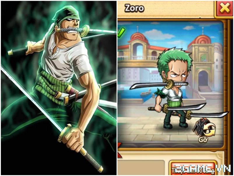 Hải Tặc Báo Thù - Tất tần tật trang phục trong One Piece sẽ được đưa vào game? 2
