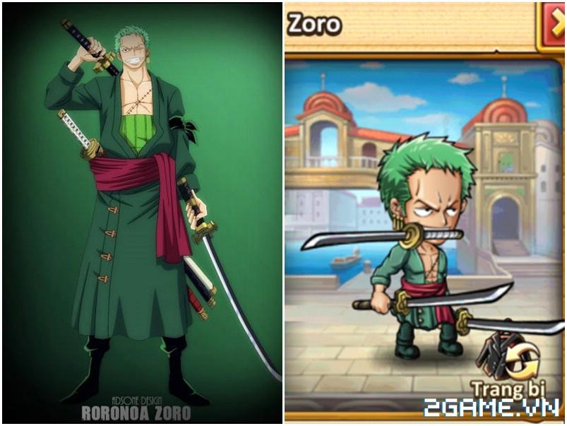 Hải Tặc Báo Thù - Tất tần tật trang phục trong One Piece sẽ được đưa vào game? 3