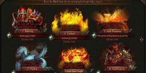 MU Đại Thiên Sứ – Điểm danh những Boss mạnh nhất trong game