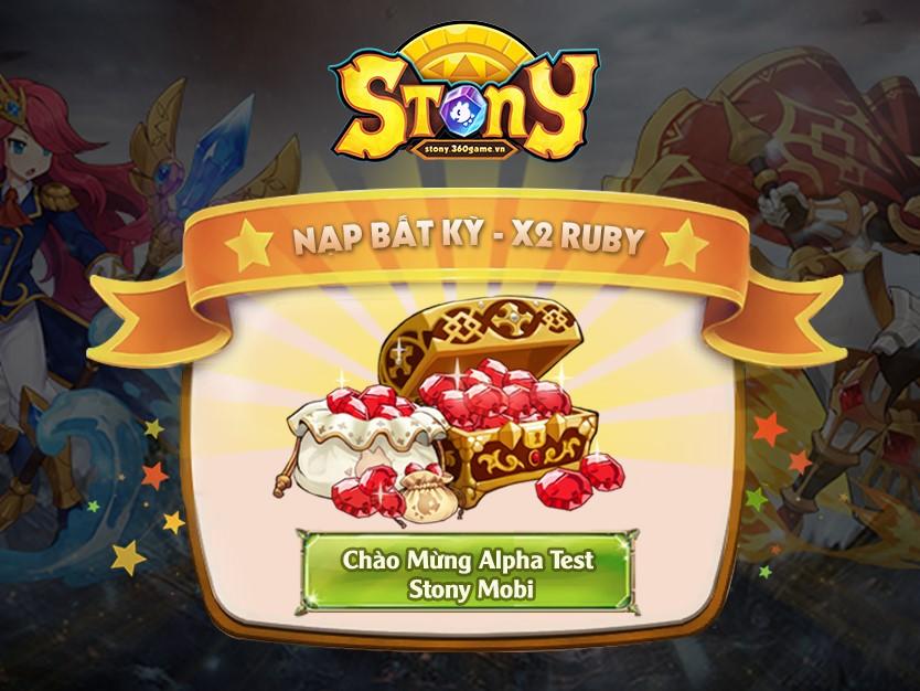 10:00 ngày 25/05 Stony Mobi chào sân làng game Việt 1