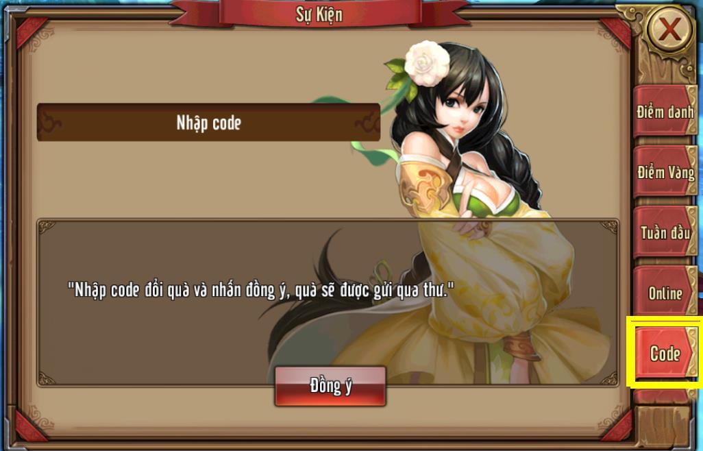 Tặng 110 giftcode game Phong Vân 3D 2