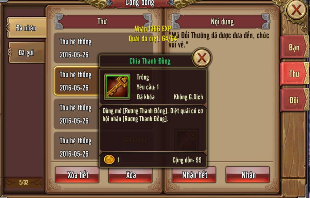 Tặng 110 giftcode game Phong Vân 3D 4