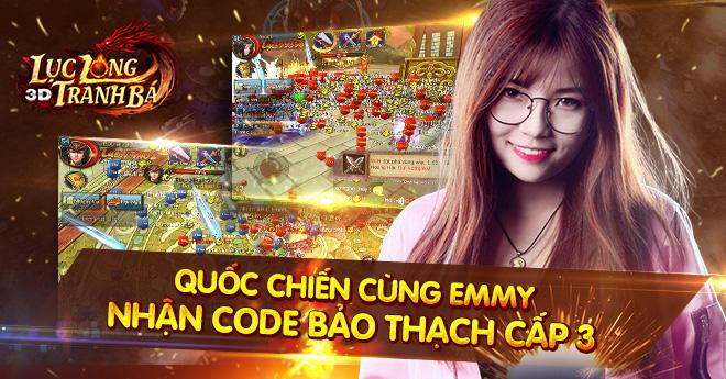 """Nam nhân Lục Long Tranh Bá 3D phấn khích vì mỹ nữ """"ngập mặt"""" trong game 3"""