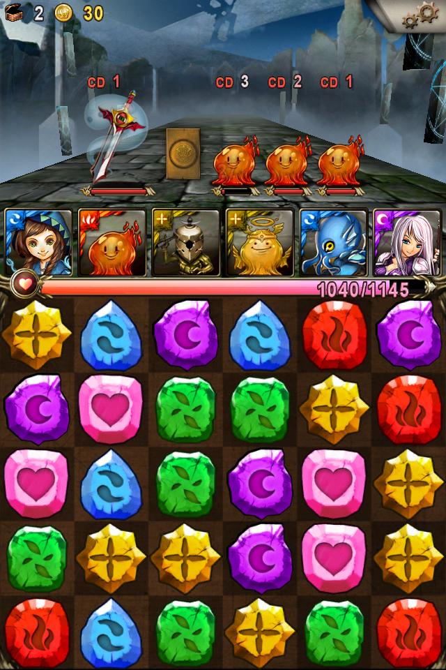 Tower of Saviors - Game nhập vai xếp hình đánh quái gây nghiện cao 0