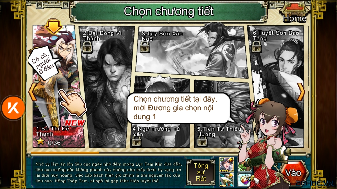 Trải nghiệm Võ Lâm Hiệp Khách - game hội tụ hàng loạt các tác phẩm kinh điển của Kim Dung 4