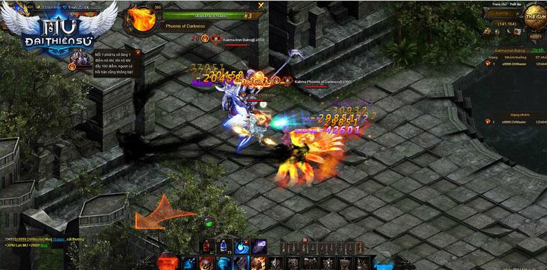MU Đại Thiên Sứ - Hướng dẫn đánh boss trong Kalima 0
