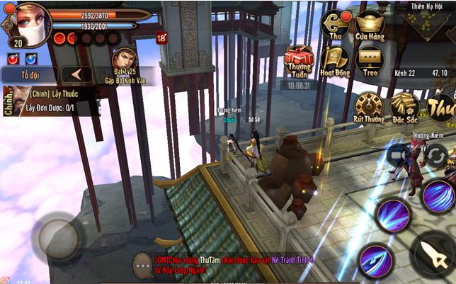 Cùng du lịch với Phong Vân 3D từ truyện đến game 10