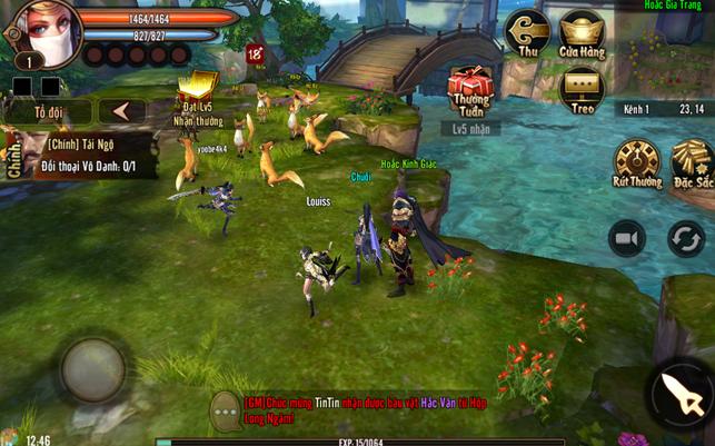 Cùng du lịch với Phong Vân 3D từ truyện đến game 2