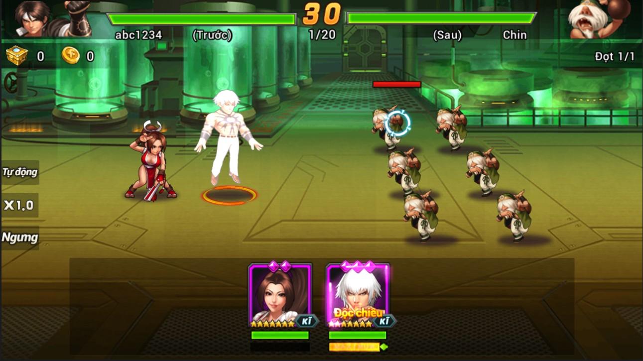 Top 7 game mobile lấy thương hiệu Quyền Vương 0