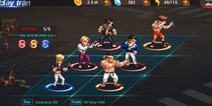 Quyền Vương 98 – Đả, Vệ, Kĩ và cách bày trận cơ bản trong game