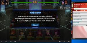 Quyền Vương 98 – Hướng dẫn chơi trên PC bằng giả lập của garena
