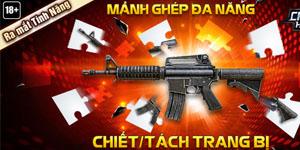 Chiến Dịch Huyền Thoại – Ra mắt tính năng mới: Chiết – Tách súng
