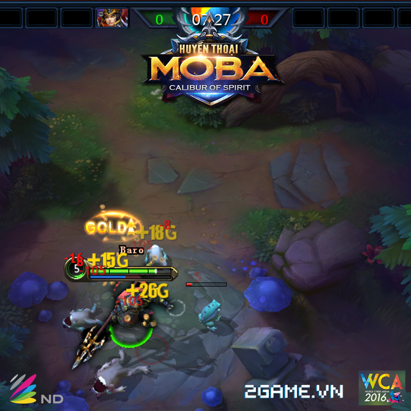 Huyền Thoại MOBA là tên gọi chính thức của game Calibur Of Spirit tại Việt Nam 3